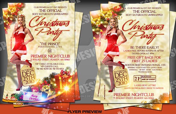 christmas party flyer official sexy sat download