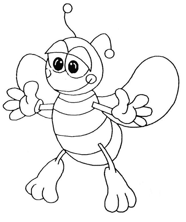 Bee Template - Animal Templates | Free & Premium Templates