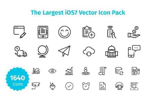 1640 ios7 icons