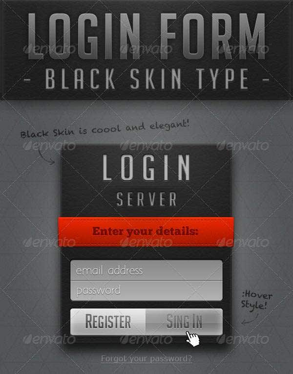 login page in asp net template.html