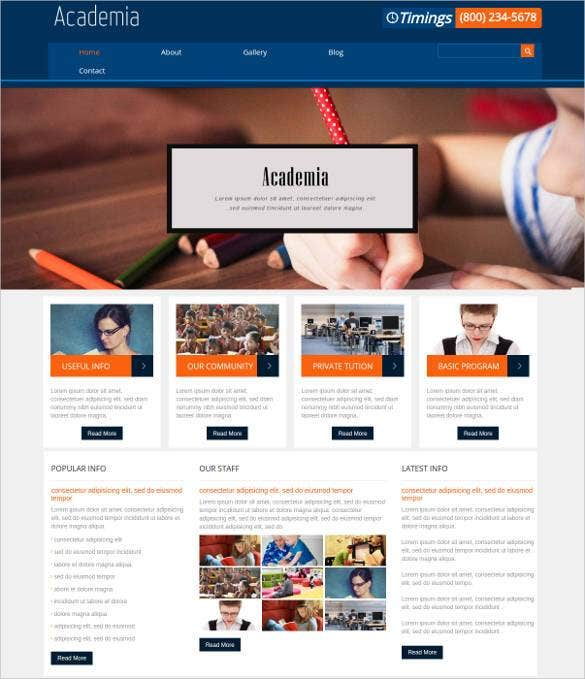 academia-education-mobile-website-template