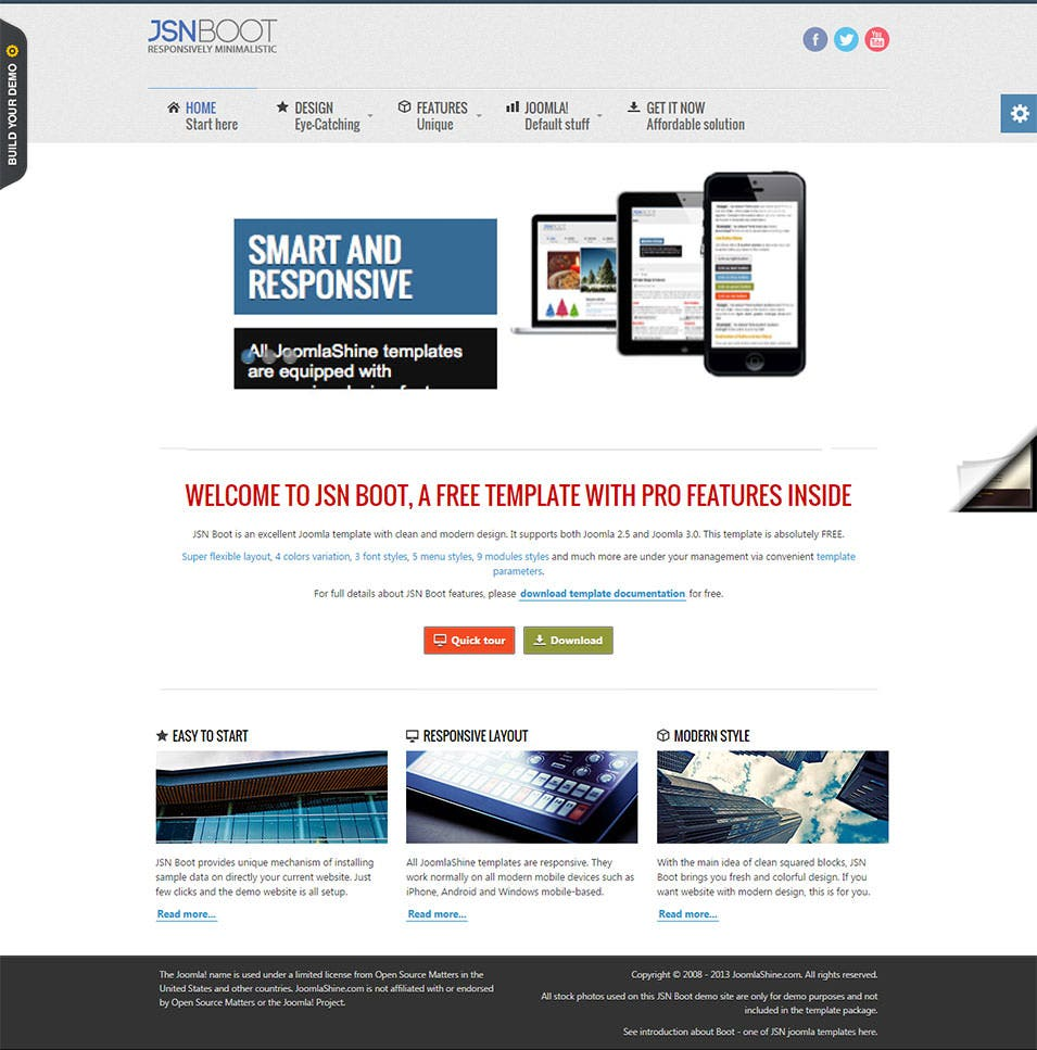 40 best joomla bootstrap templates themes free premium templates free bootstrap joomla template maxwellsz