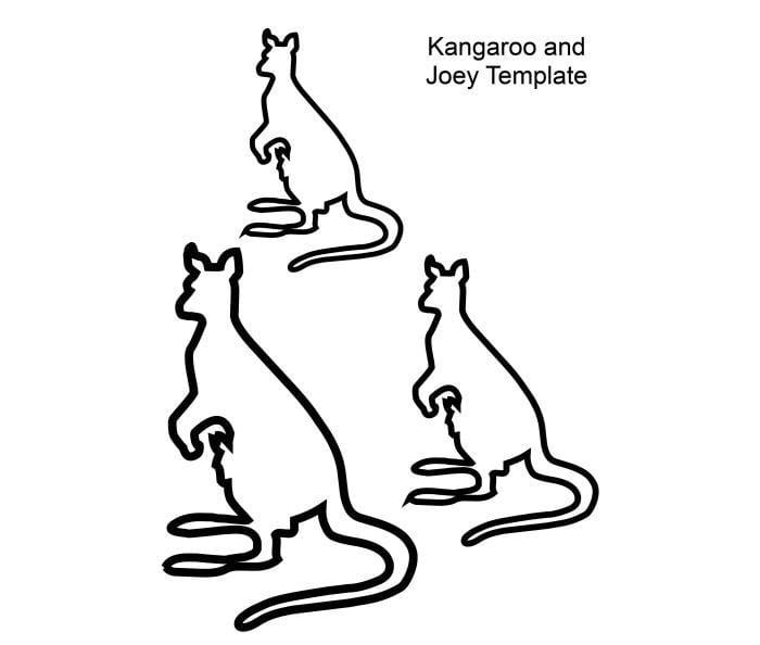 australian animal template animal templates free premium templates