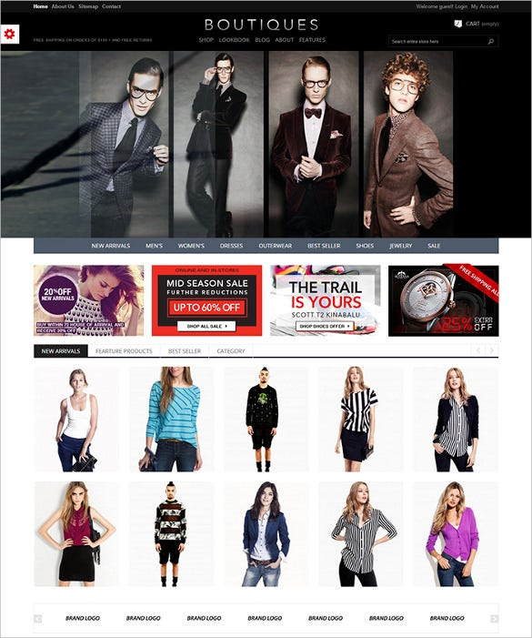 et boutique responsive prestashop template