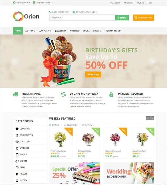 orion mega shop responsive prestashop theme1