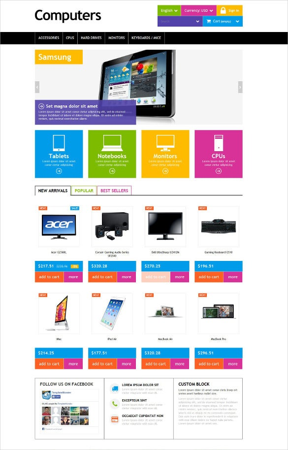 computers prestashop theme