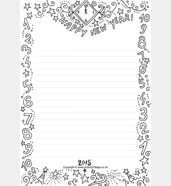 30+ Best New Year Resolution Templates & Design Ideas for 2015