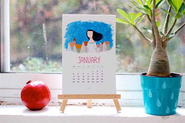 2015 monthly calendar1