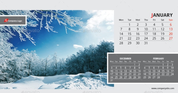 2019-desk-calendar-template