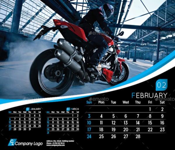 2019-modern-calendar-template