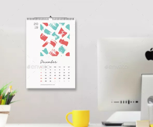 24+ Best Editable Calendar Templates & 2019 Designs | Free