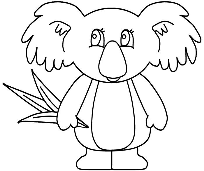 Australian Animal Colouring Pages Australian Animals