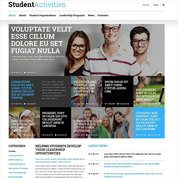 education responsive joomla bootstrap template