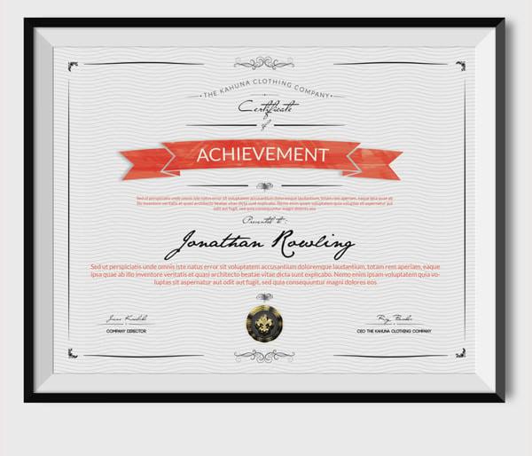 Universal Certificate