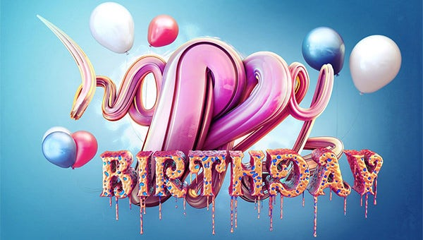 75 Happy Birthday Images Backgounds Elements