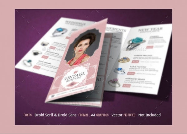 Jewelry Brochure Design