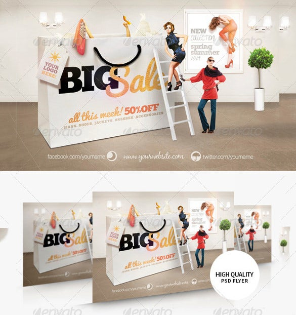big sale flyer template 7