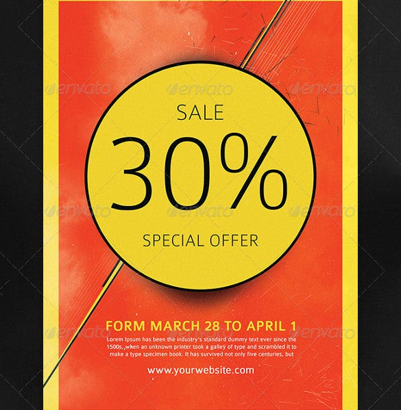 sale flyer template 6