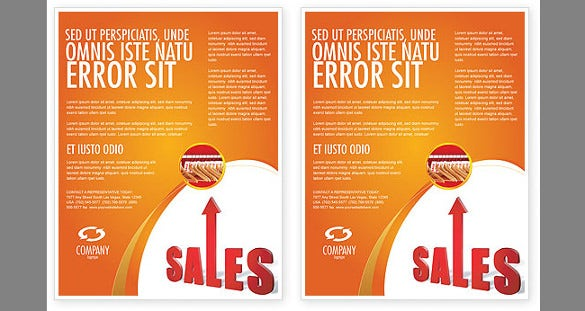 sales flyer template 42