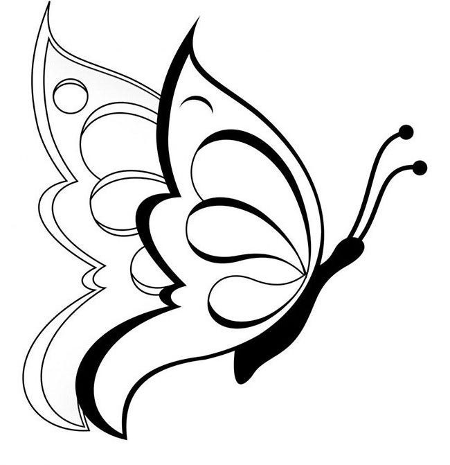 30 Butterfly Templates Printable Crafts amp Colouring