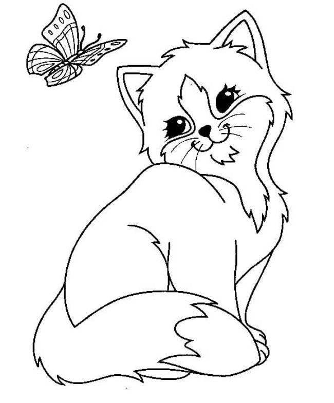 Cat Template | Cat Shape Template Animal Templates Free Premium Templates