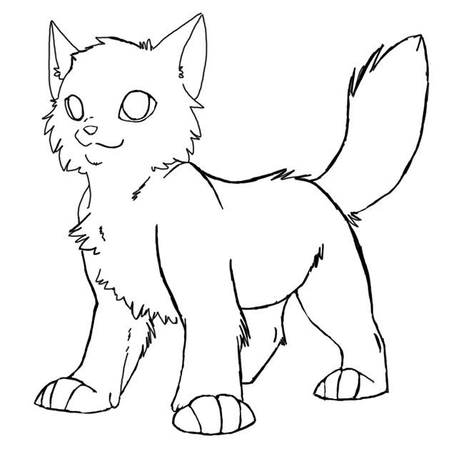 This is a picture of Magic Cat Template Printable