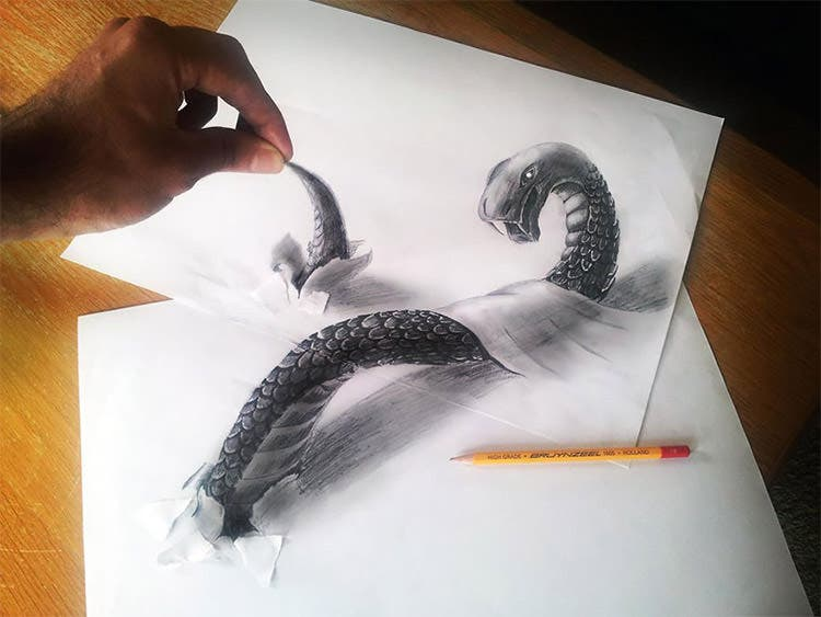 26 3d Pencil Drawings Pencil Drawings Designs Free Premium