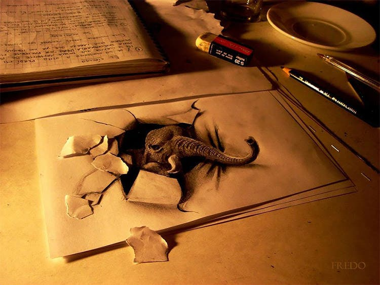 3d pencil drawing by muhammad ejleh2