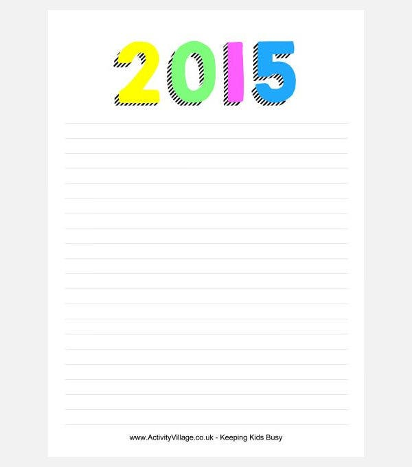Common Worksheets » Blank Writing Sheets - Preschool and ...