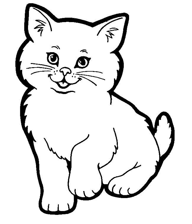 Impeccable image regarding cat template printable