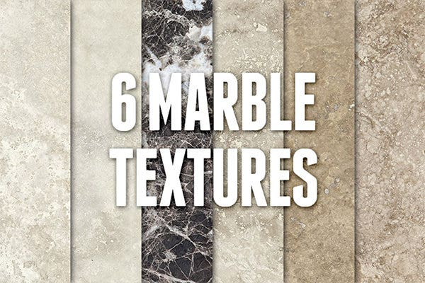 6 marble textures
