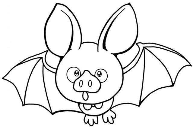 Bat Template Animal Templates