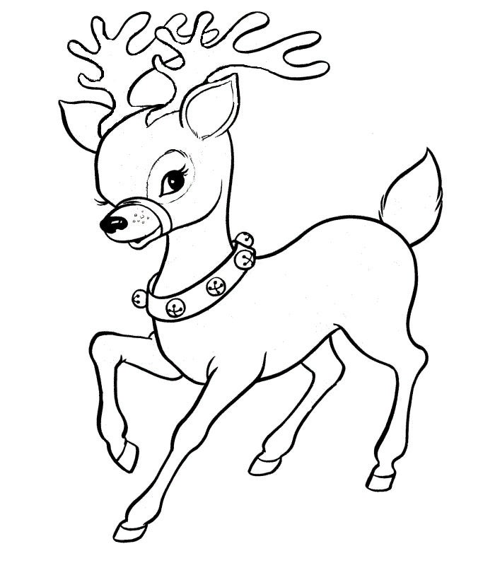 Reindeer Template - Animal Templates | Free & Premium ...