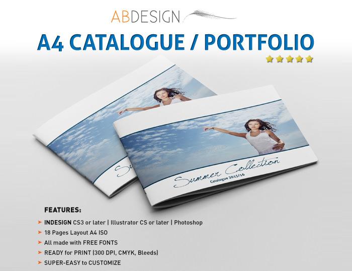 A4 Catalog-Portoflio Template