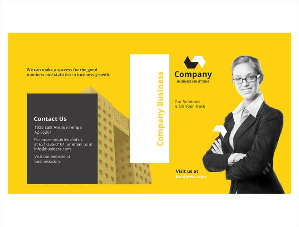 a5 half fold brochure indesign template