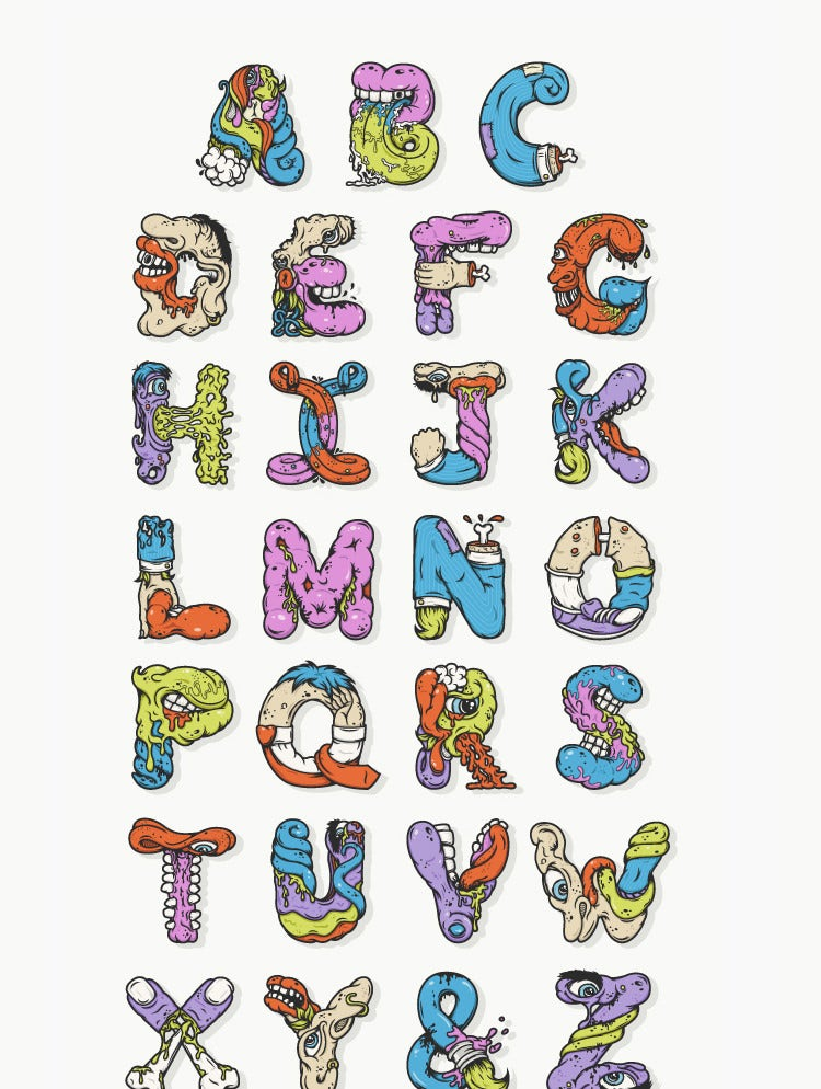 Classroom Decor Download ~ Best printable alphabet posters designs free
