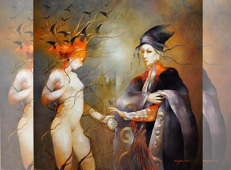 anne bachelier metamorphosis painting
