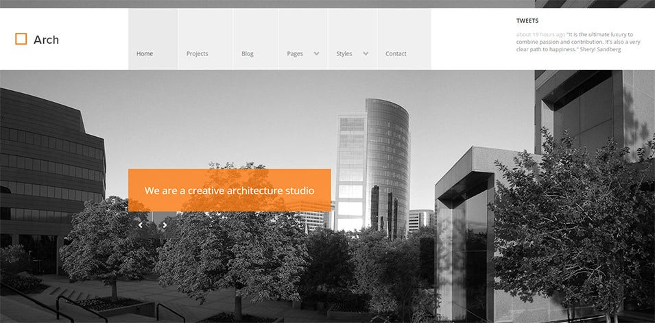 Responsive Architect WordPress Theme