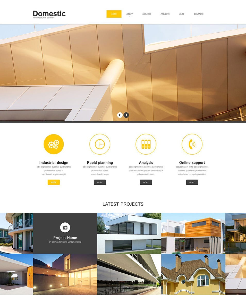 architecture responsive wordpress theme2