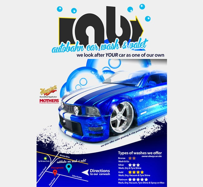 Car Wash Flyer Template - Blank car show flyer