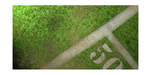 awesome grass texture in photoshop