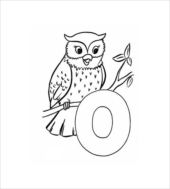 coloring pages of owl babies - photo#20