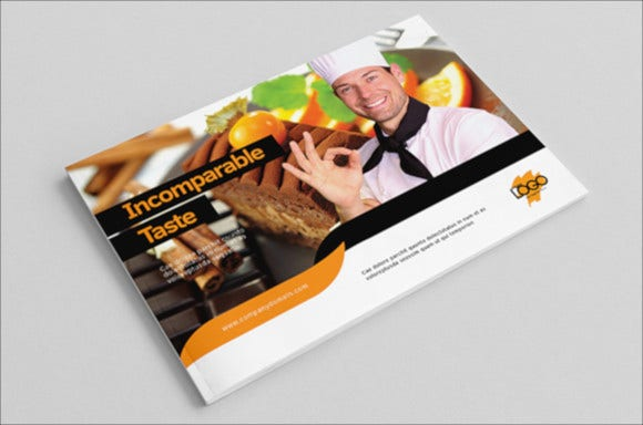 bakery catalog template