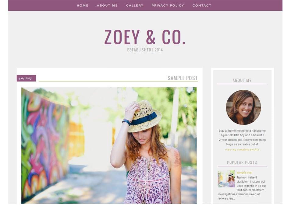 blogger template1