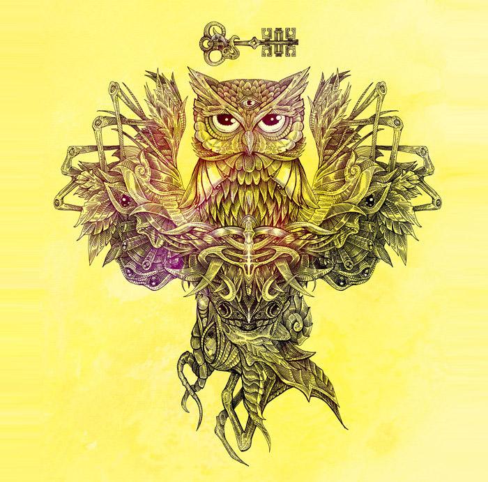 botanical owl
