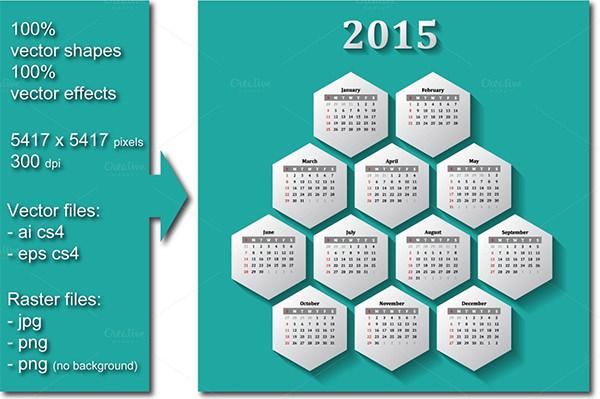 calendar 20152