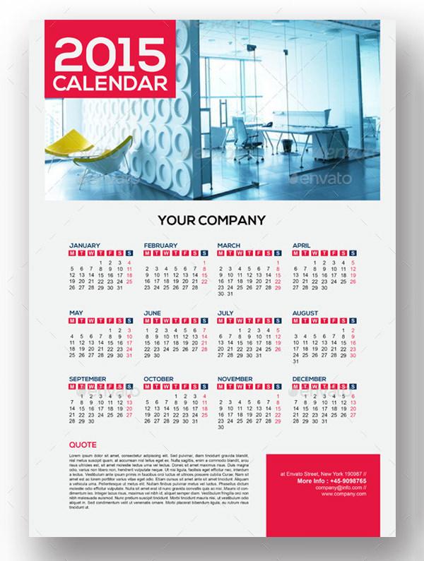 calendars template