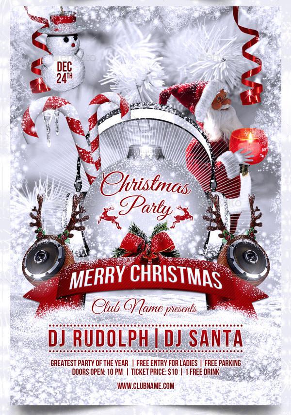 50+ Christmas Flyer Templates & Printable Christmas PSD's ...