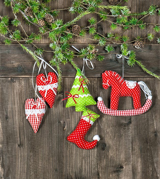 christmas decoration handmade toys 7