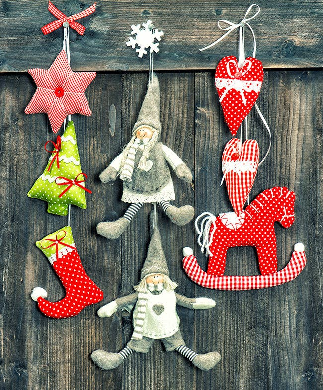 christmas decoration handmade toys 8